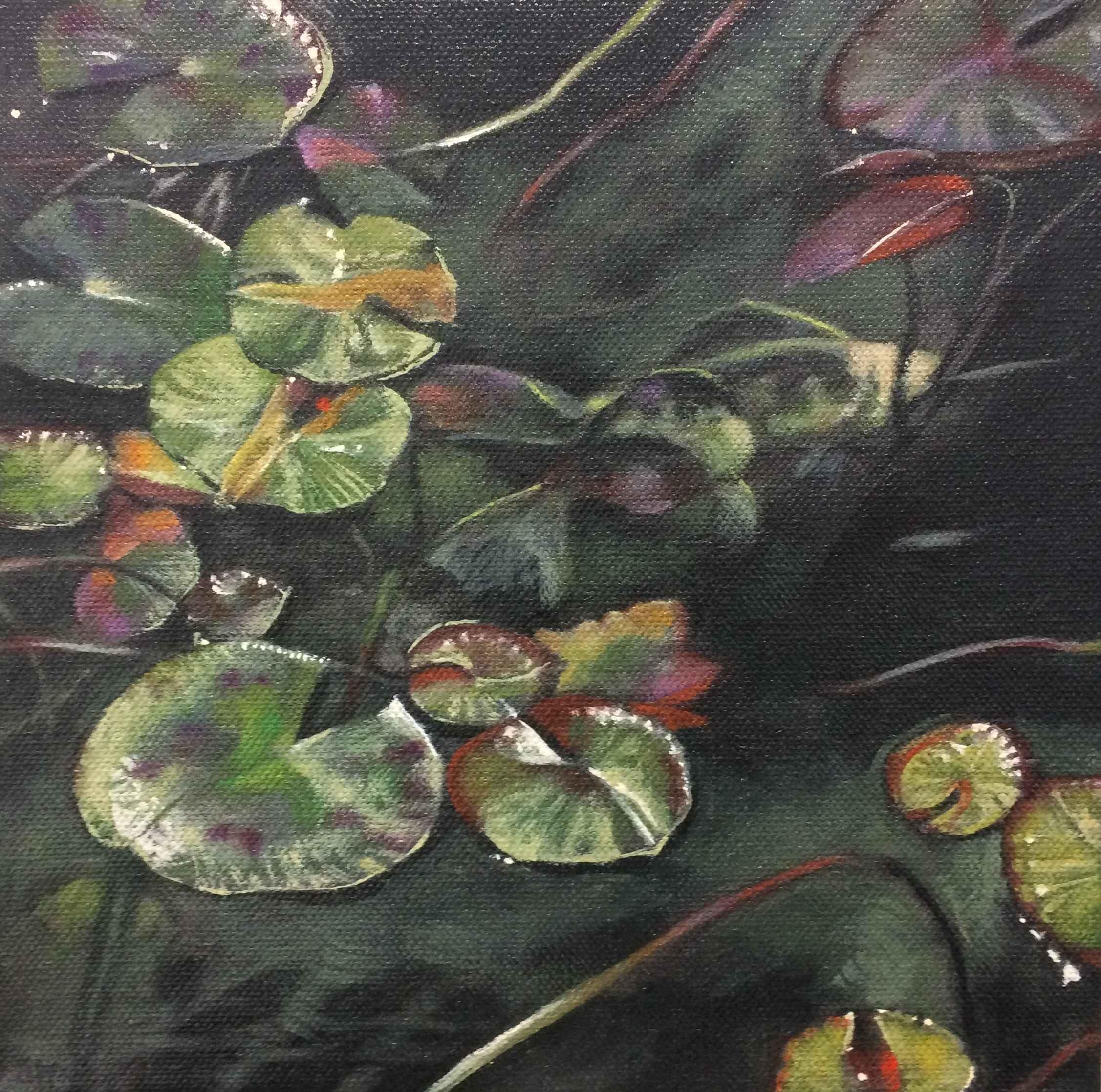 Waterlight (Dark Fish) by  Barbara Waterman-Peters - Masterpiece Online