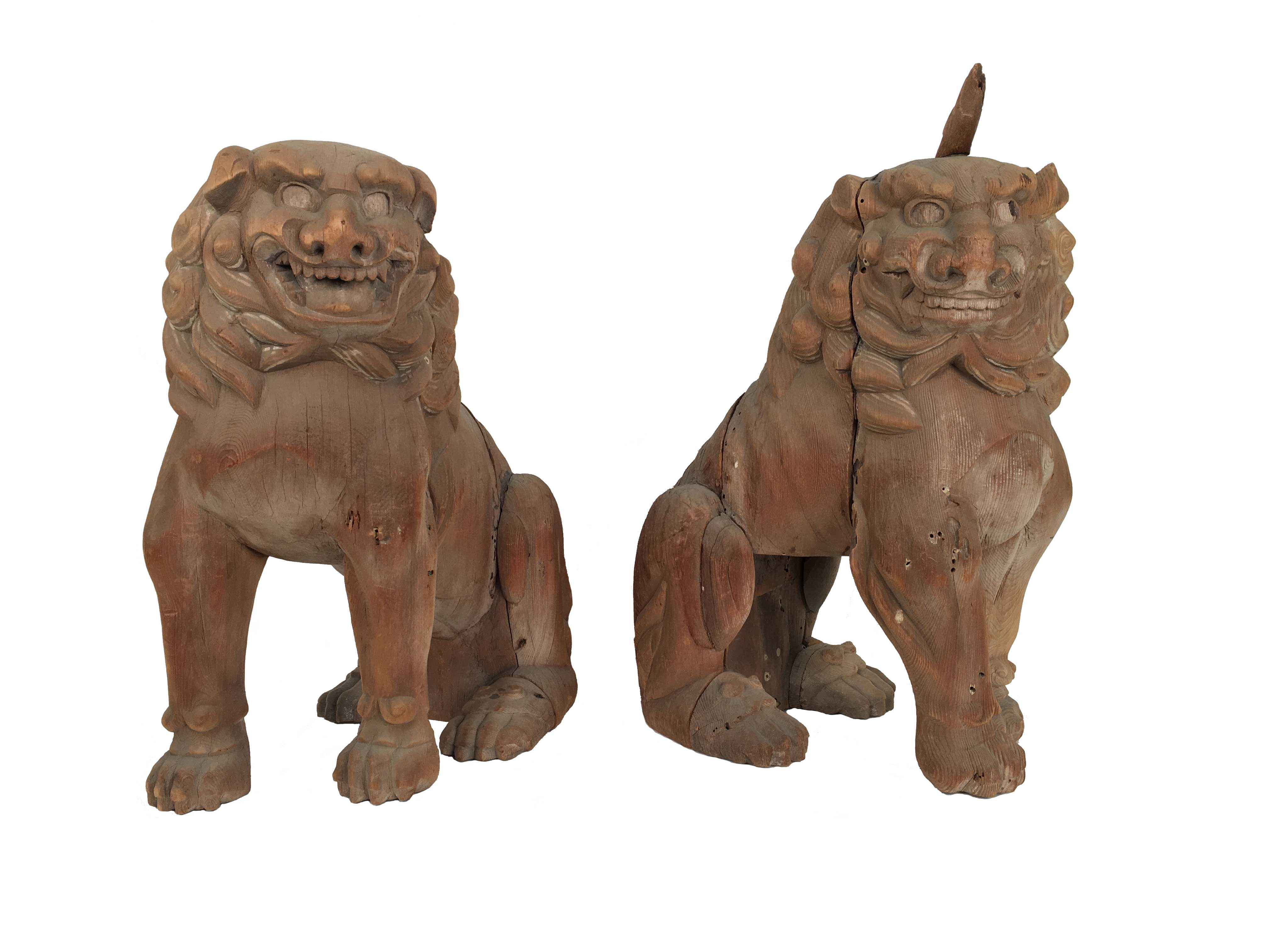 JAPANESE PAIR OF WOOD... by    - Masterpiece Online