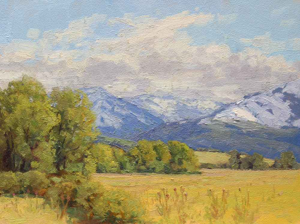 Snow in September  by  Bart Walker