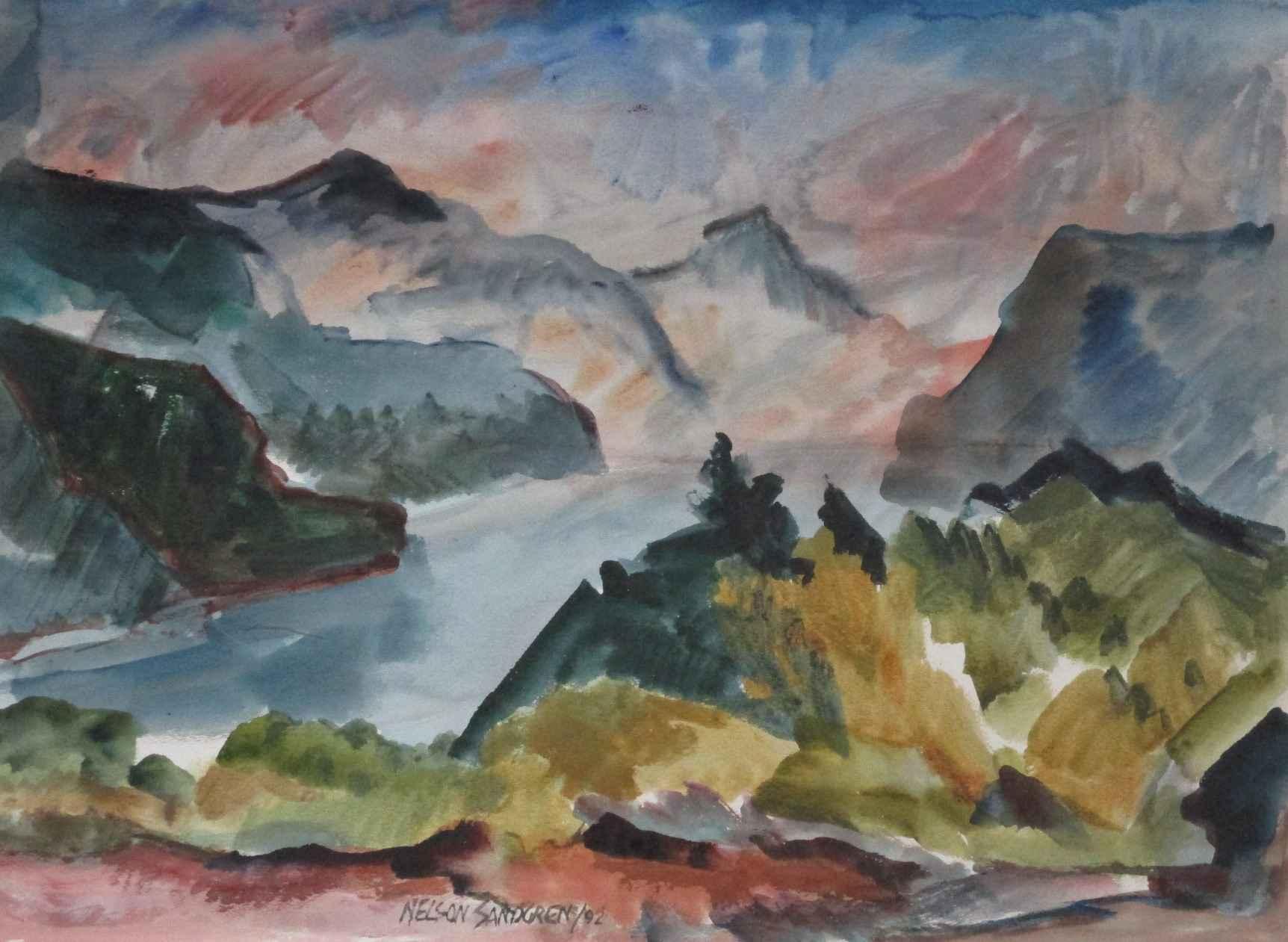 Title Unknown (NW lan... by  Nelson Sandgren - Masterpiece Online