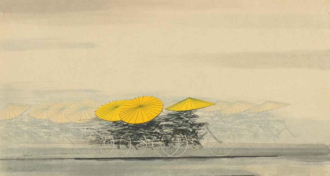 Wagasa-Yellow by  Shigeki Kuroda - Masterpiece Online