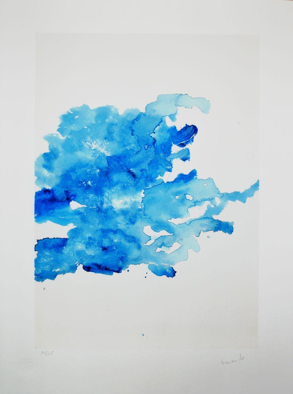 Blue Composition I by   Armando - Masterpiece Online
