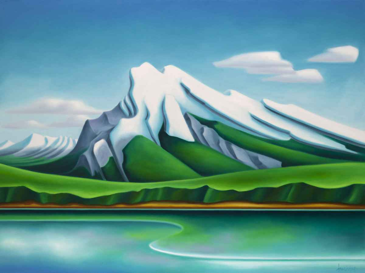 By the Lake by  Dana Irving - Masterpiece Online