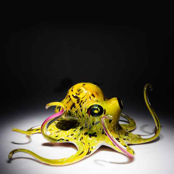 Soul Glass Octopus wi... by  Michael Hopko - Masterpiece Online