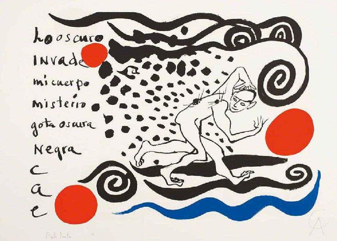 Lo Oscuro Inveda-Dark... by  Alexander Calder - Masterpiece Online