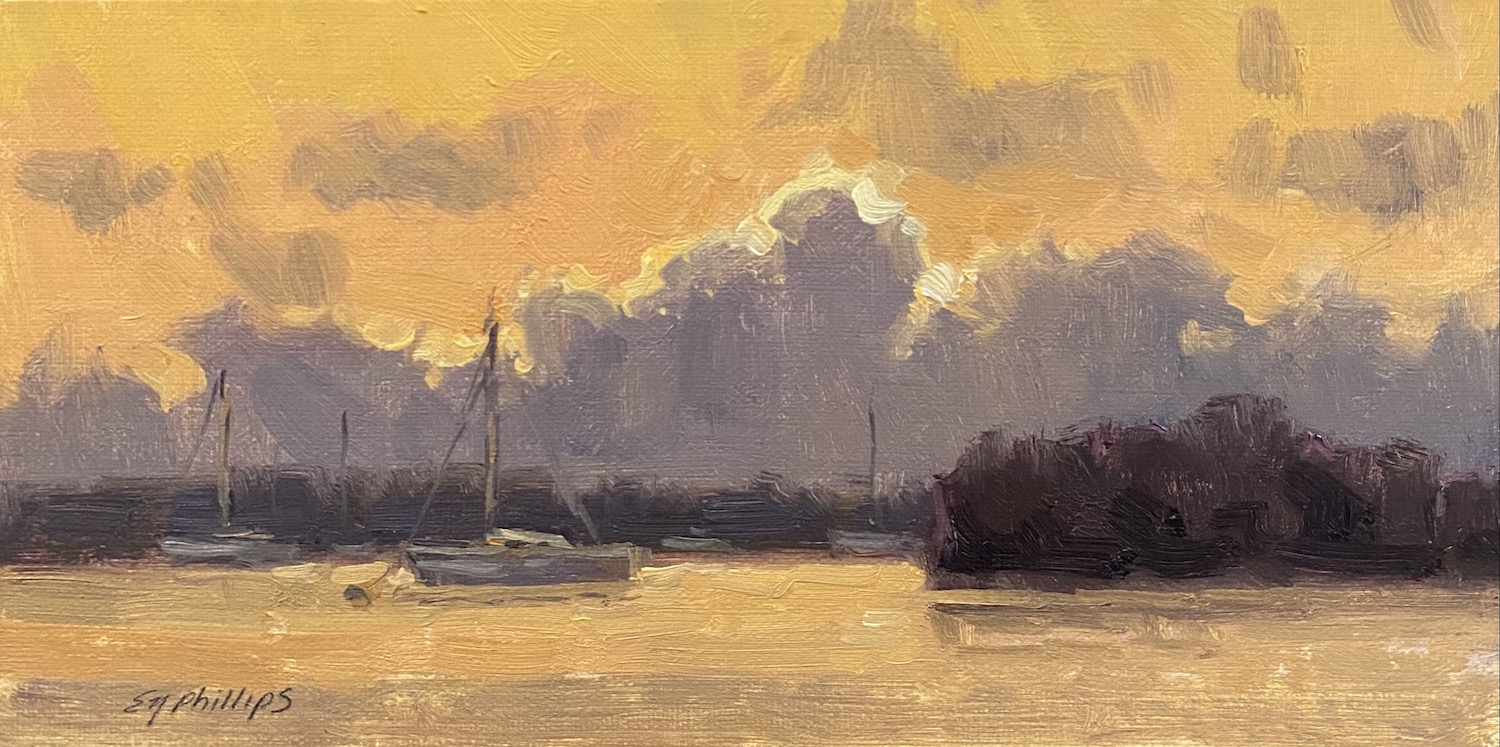 Sunset by  Elise Phillips - Masterpiece Online