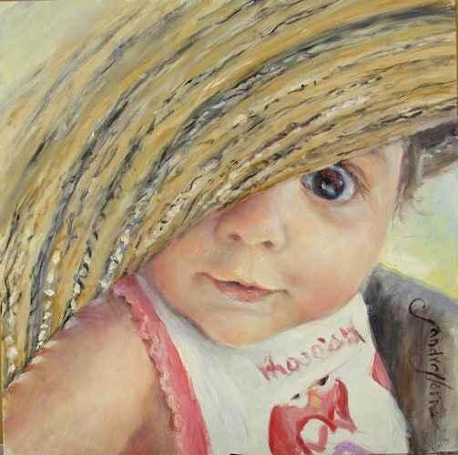 Mom's Hat  by  Sandra Horne