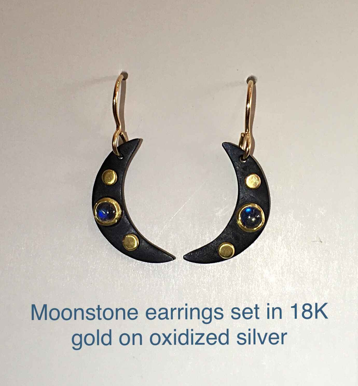 Moonstone Earrings by Mrs. Lana McMahon - Masterpiece Online