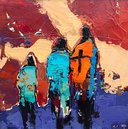 Three Shamans by  Ray Tigerman - Masterpiece Online