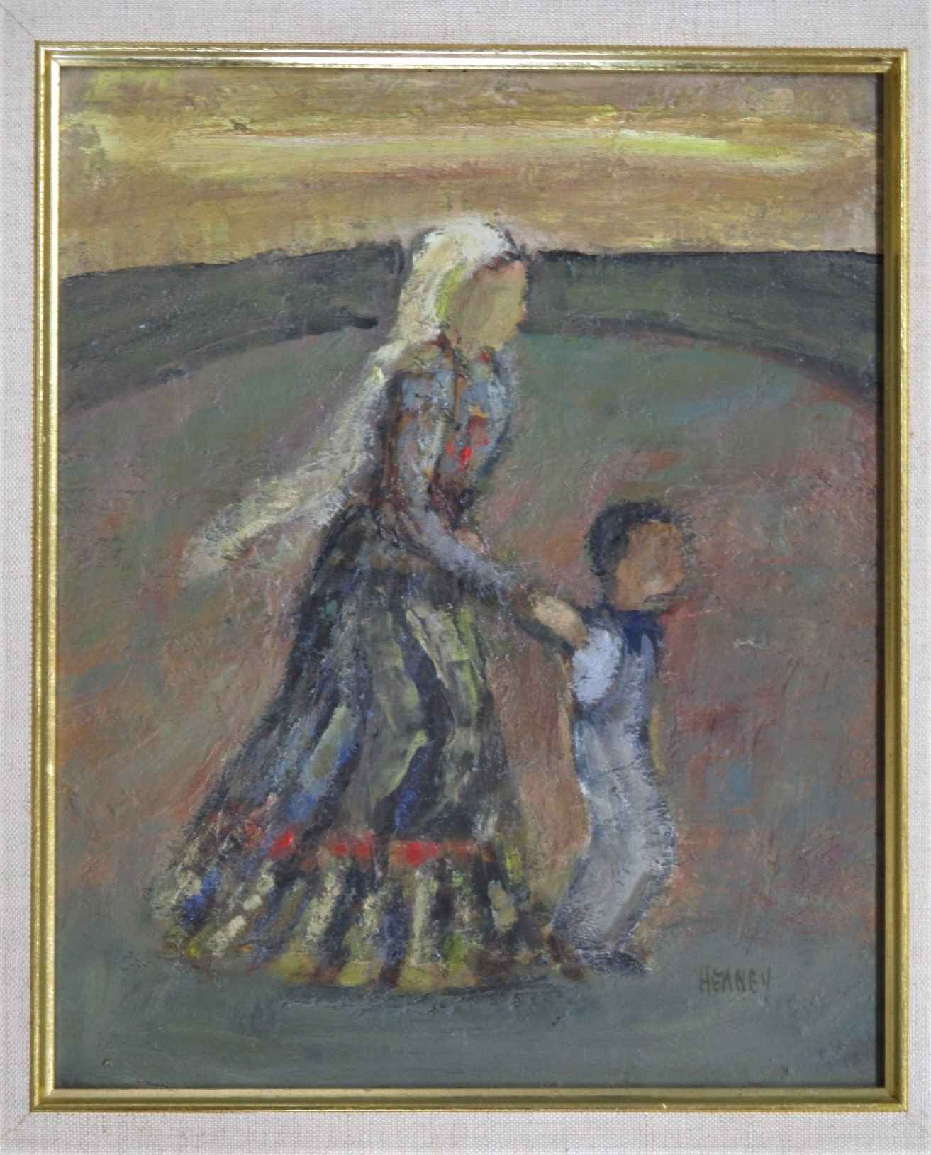 Unknown (Mother w/chi... by  Charles Heaney - Masterpiece Online