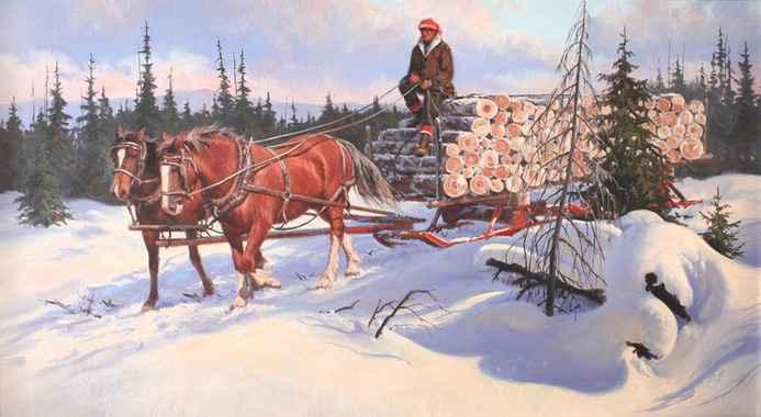 Teamwork  by  Harold Lyon