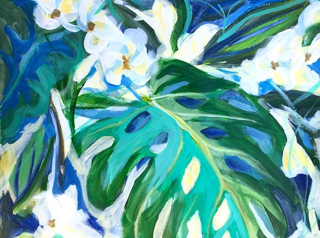 Tropical Foliage #3 by  Dawn Calhoun - Masterpiece Online