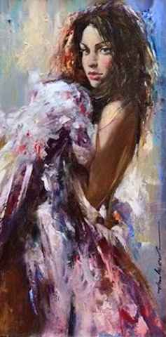 Floral Dress by  Andrew Atroshenko - Masterpiece Online