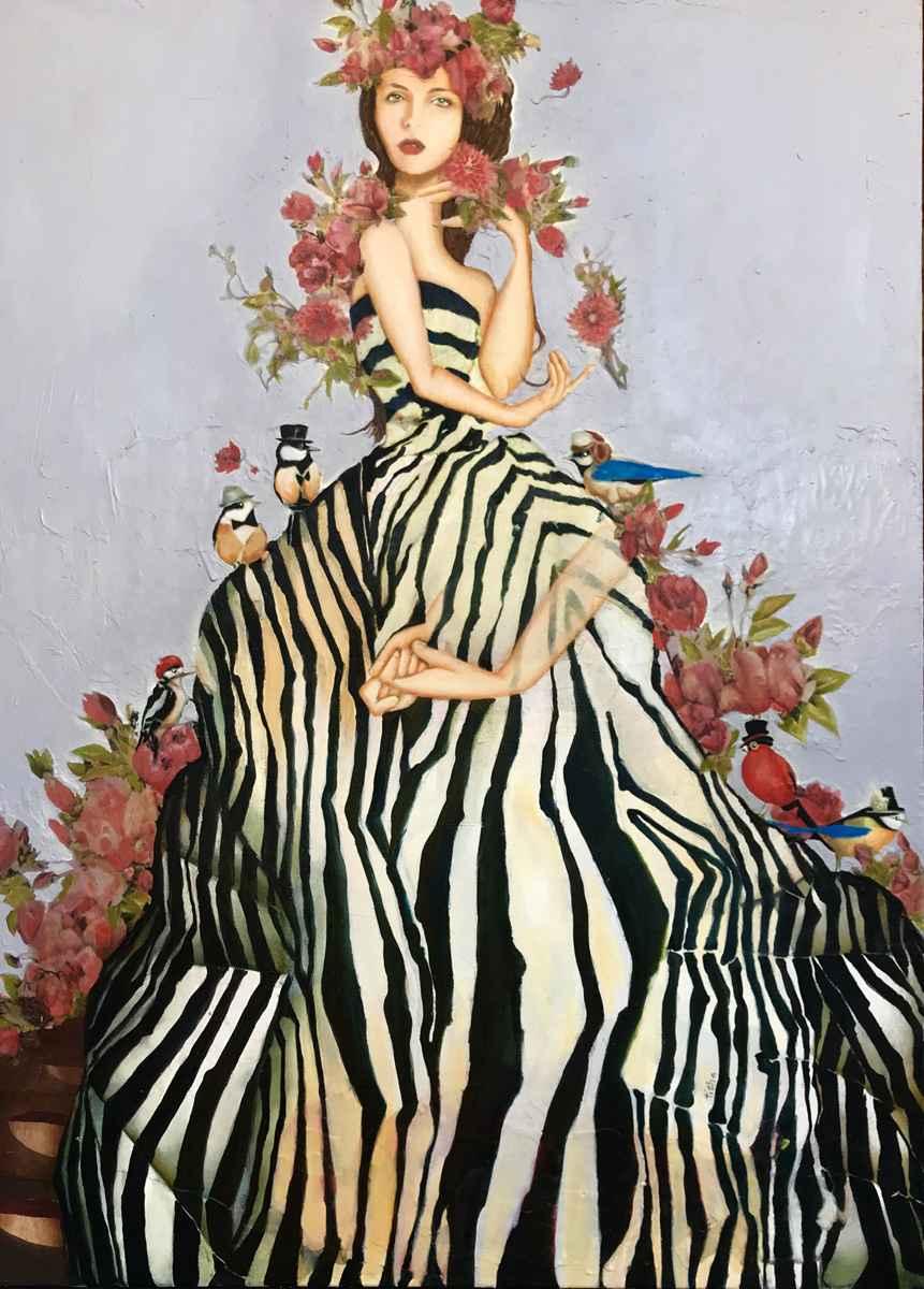 The world of tophats by  Tisha Weddington - Masterpiece Online