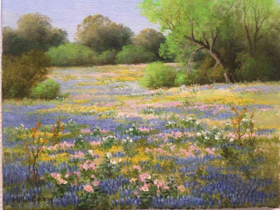 Spring Color by Mrs Milbie Benge - Masterpiece Online