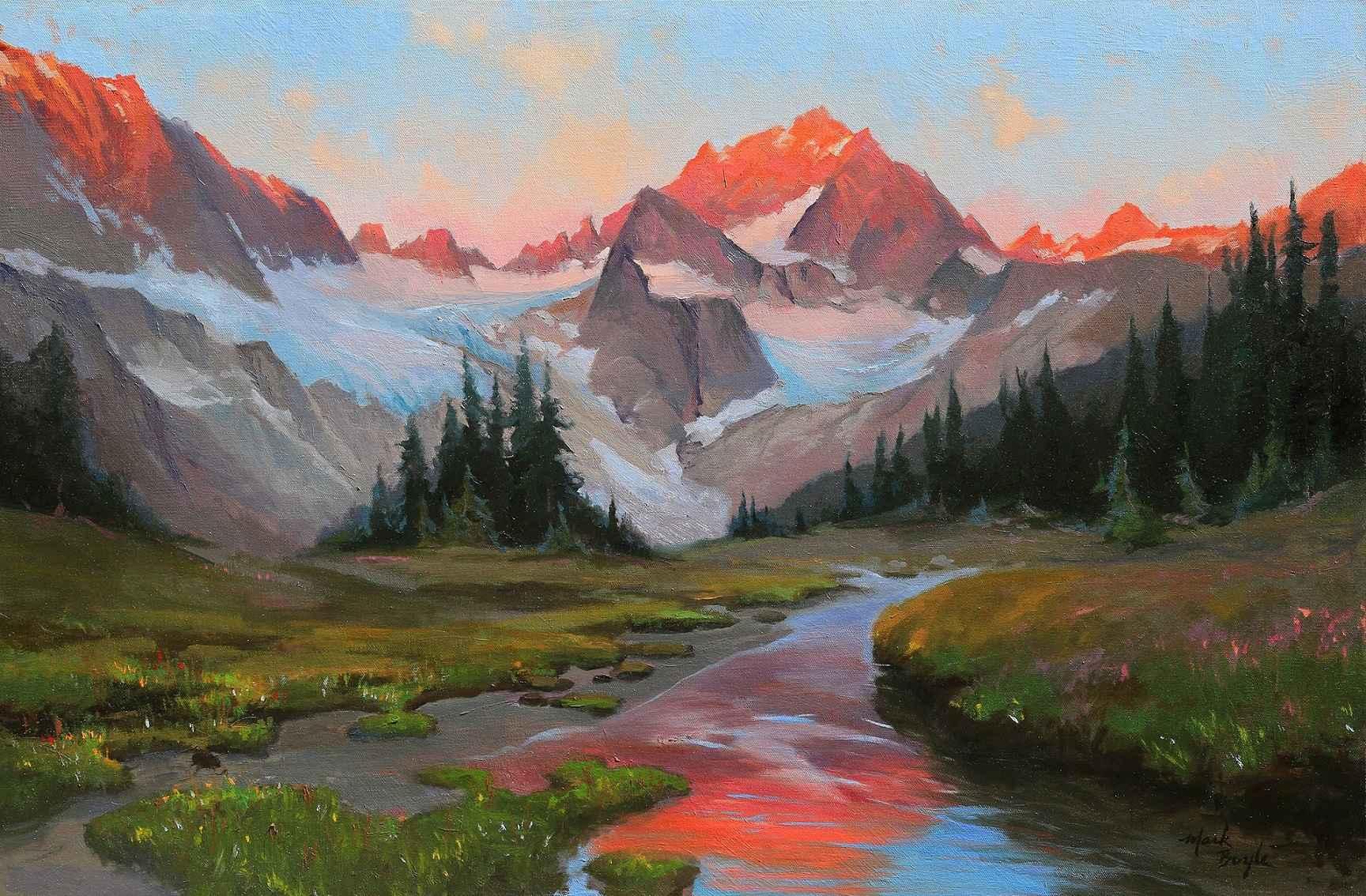 Ragged Ridge Sunrise by Mr Mark Boyle - Masterpiece Online
