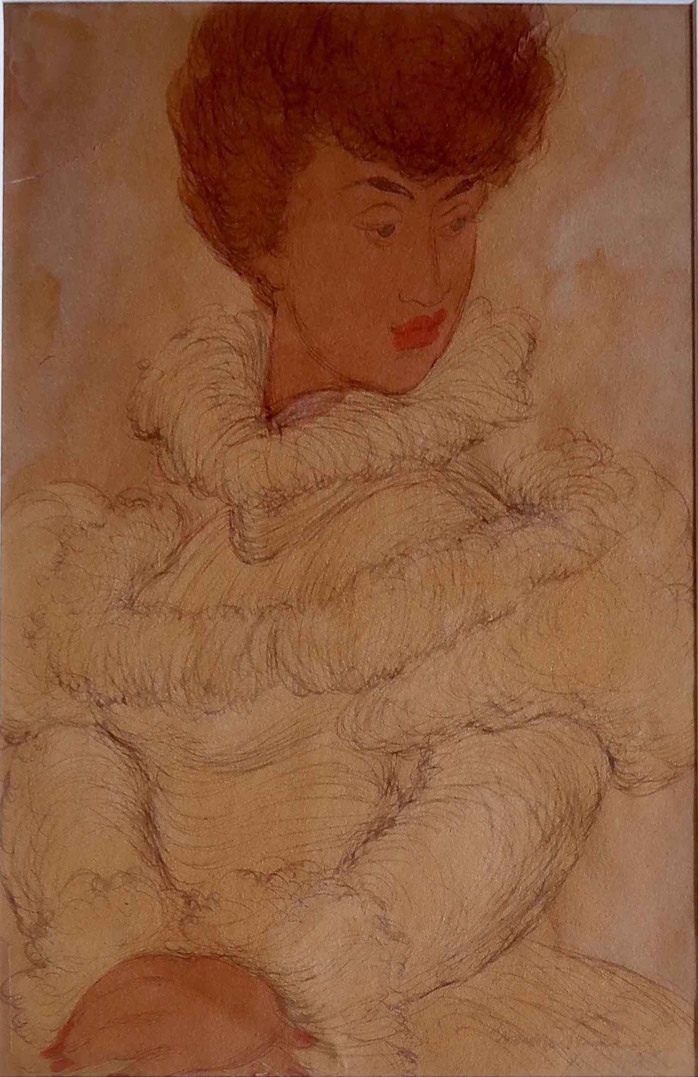 Lady in Victorian Dre... by  Madge Tennent (1889-1972) - Masterpiece Online