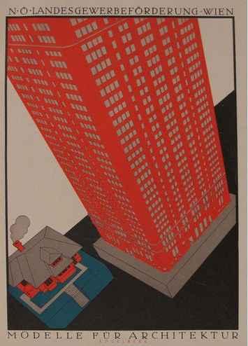 Architektur, Architec... by  Julius Klinger - Masterpiece Online