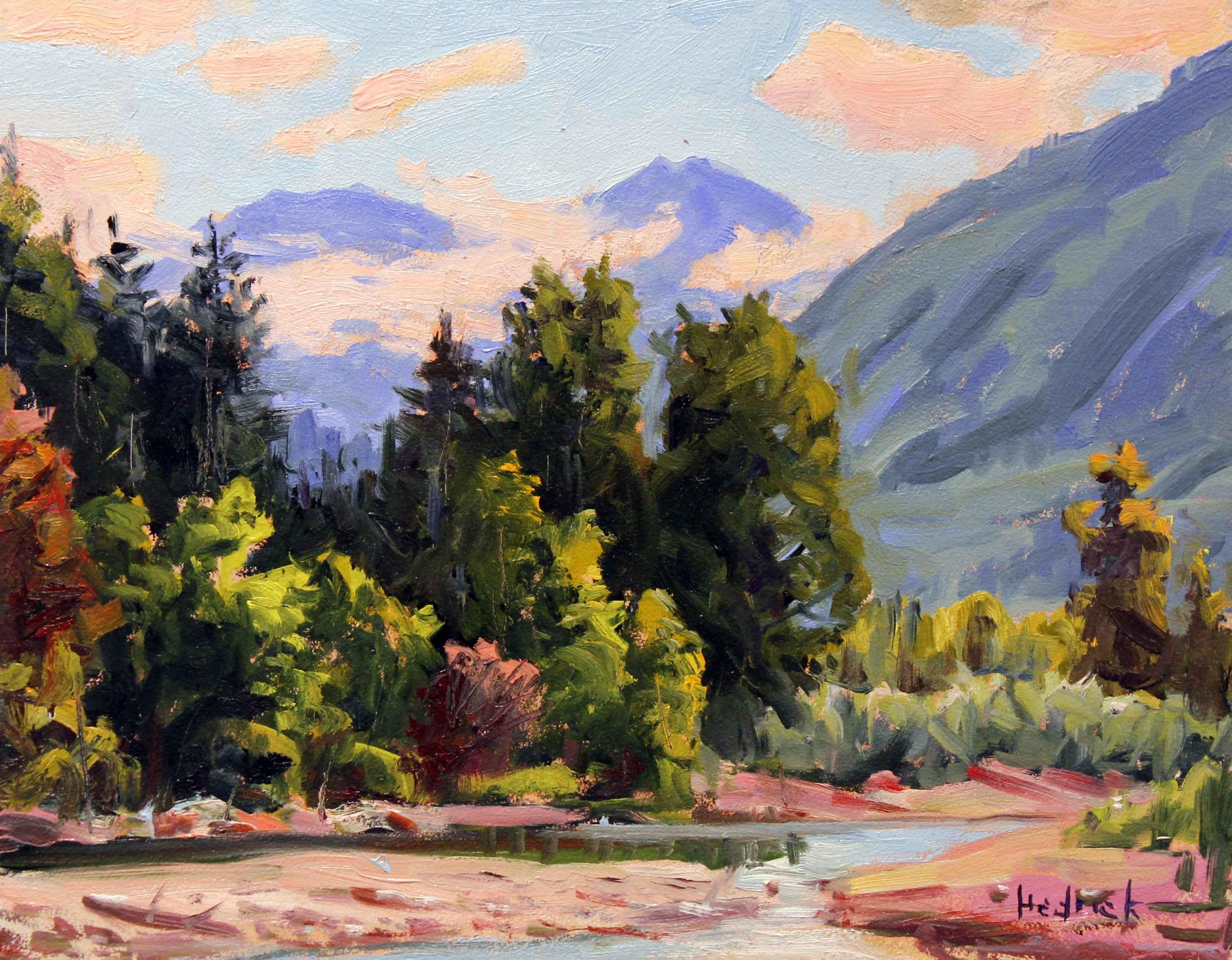 Chilliwack River by  Ron Hedrick - Masterpiece Online