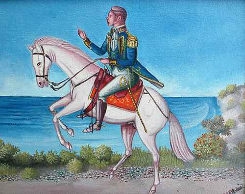 Petion on his horse