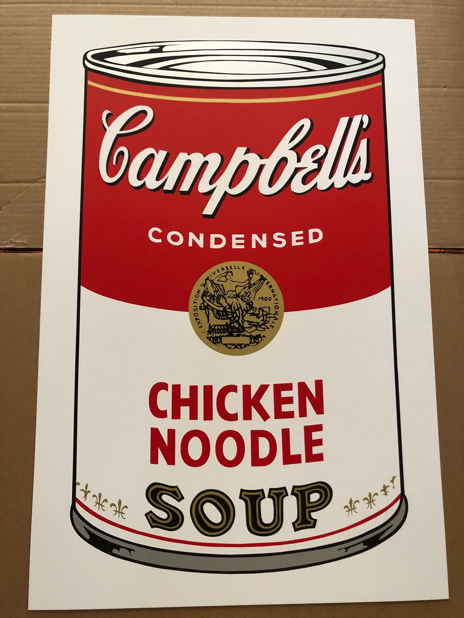 Campbell's Soup - Chi... by  Andy Warhol - Masterpiece Online