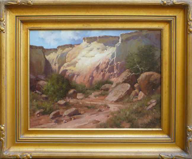 Canyon Walls by Mr. & Mrs. Gary Niblett - Masterpiece Online