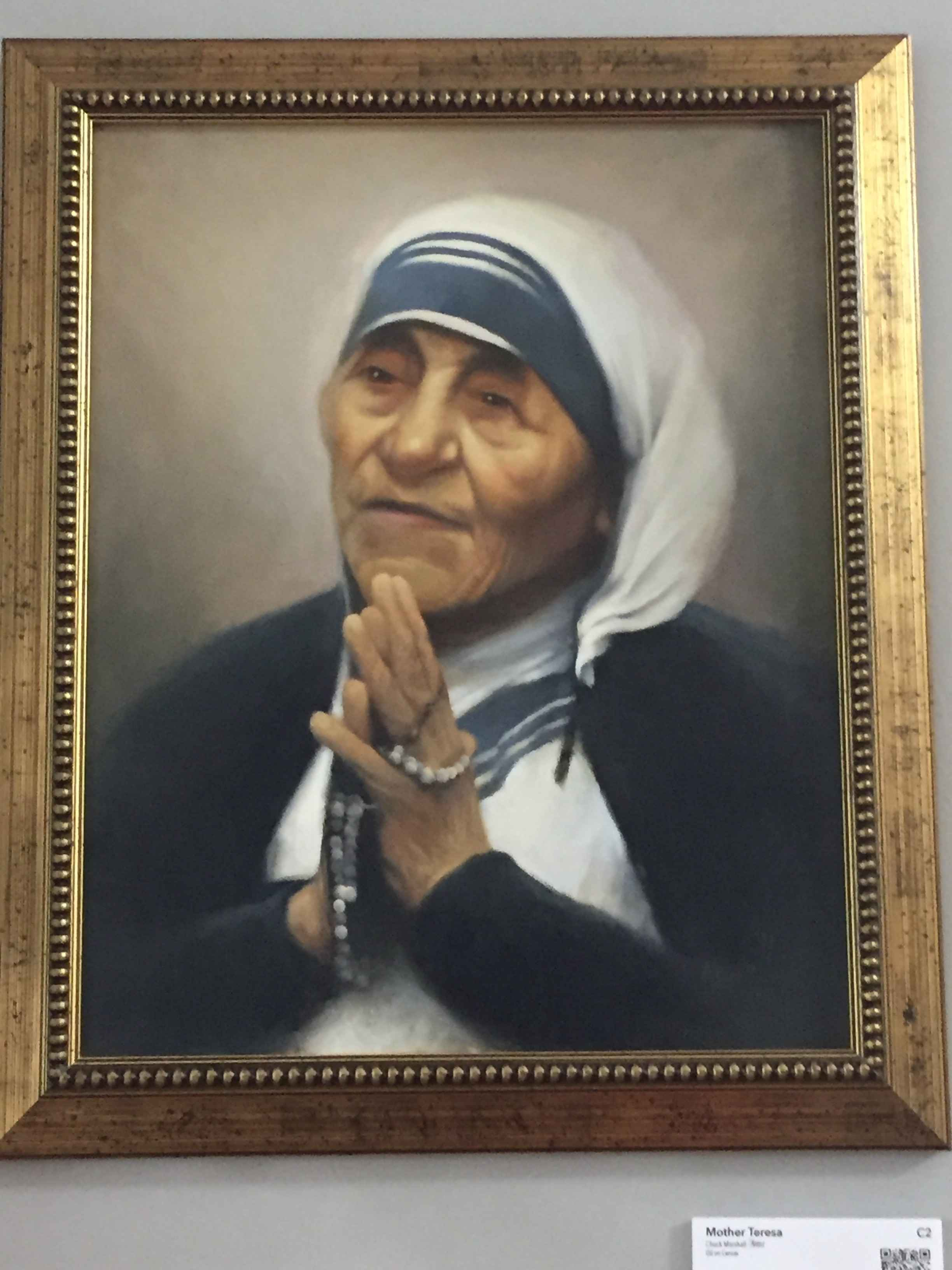 Mother Teresa by  Chuck Marshall - Masterpiece Online