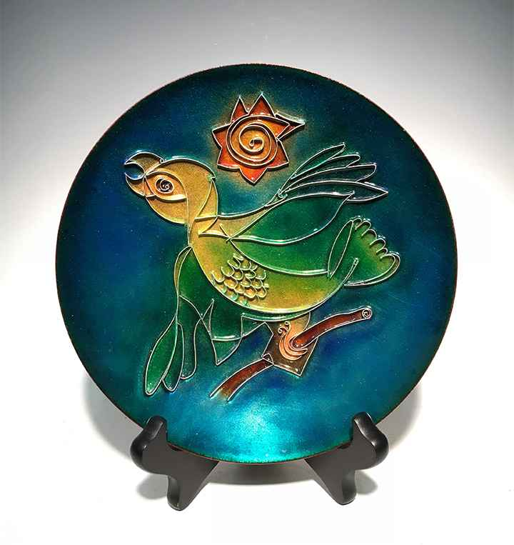 Amazon Plate by  Brian Hinkle - Masterpiece Online