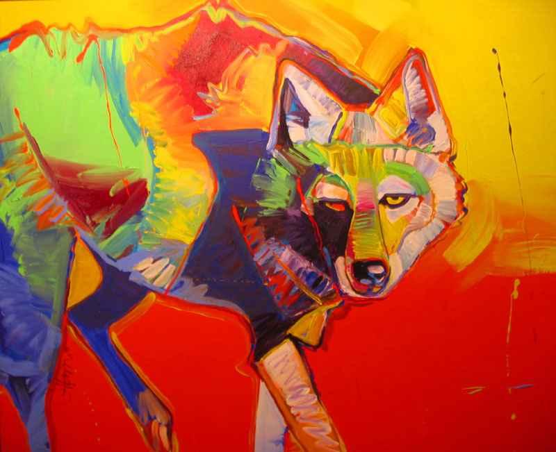Spirit Eye Coyote