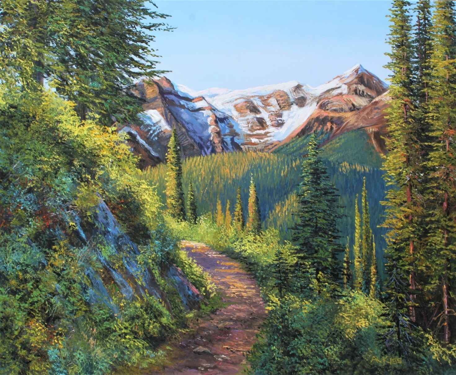 Mountain Hike by  Andrew Kiss - Masterpiece Online