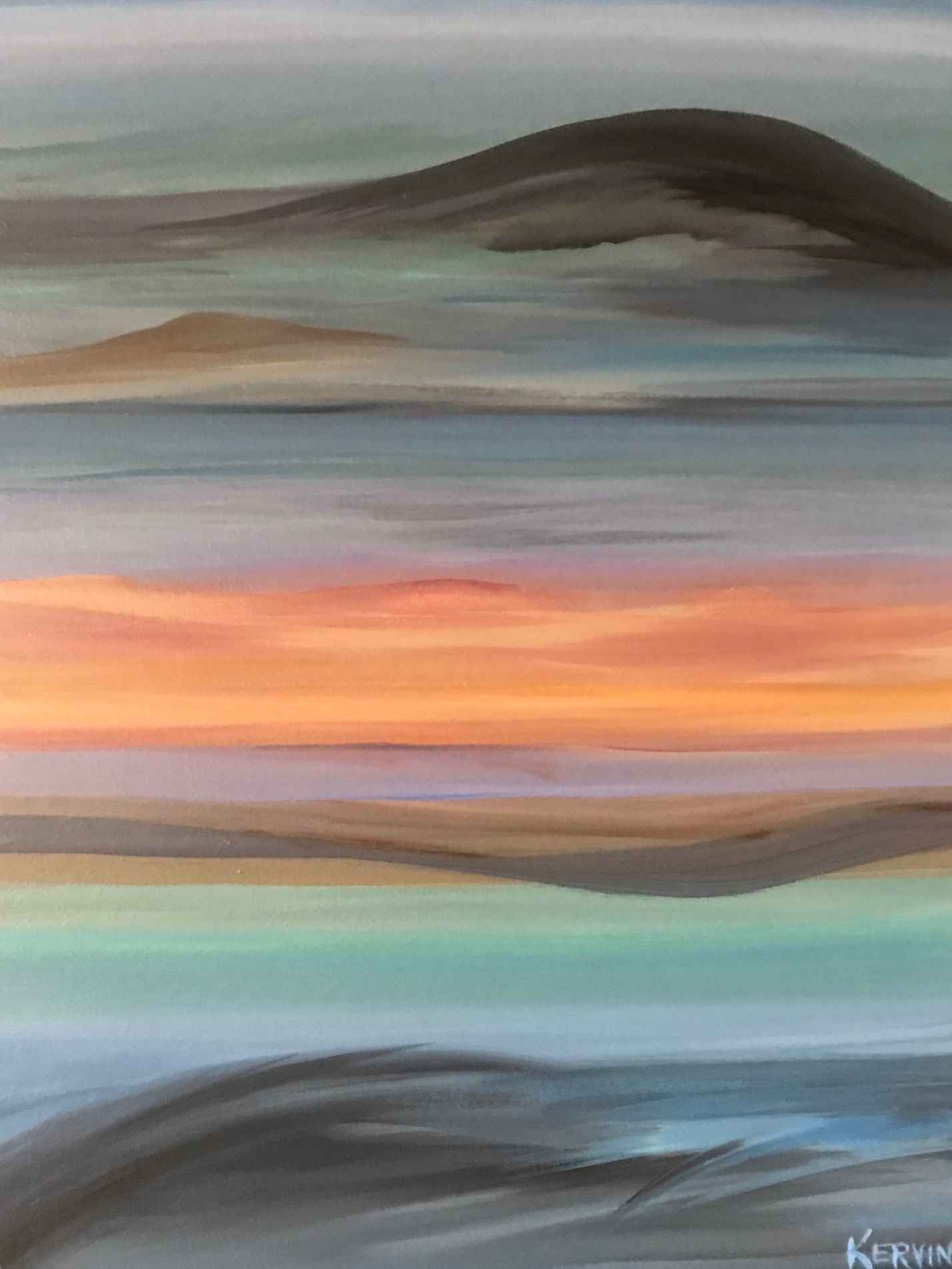 Canyon Abstract by  Judith Kervin - Masterpiece Online