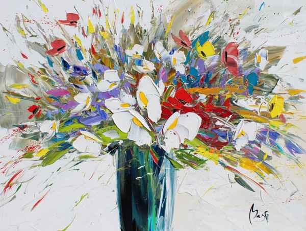 White Splendor by  Louis  Magre - Masterpiece Online