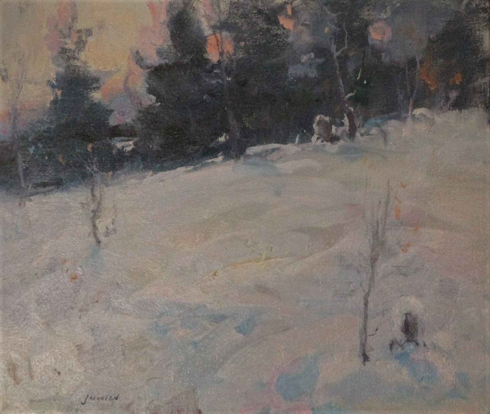 Winter Afternoon by  Eric Jacobsen - Masterpiece Online