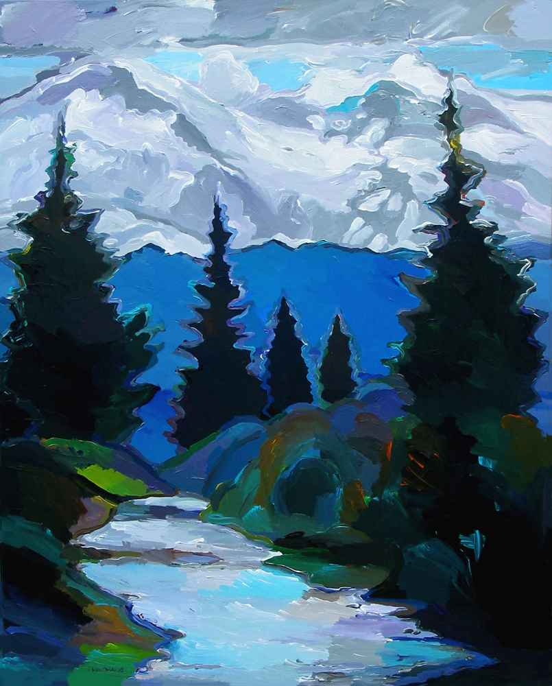 Mount Rainier by  Hooshang Khorasani - Masterpiece Online
