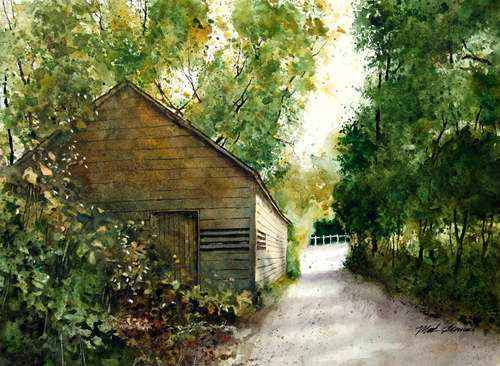 By the Barn by Mr Mark Stewart - Masterpiece Online