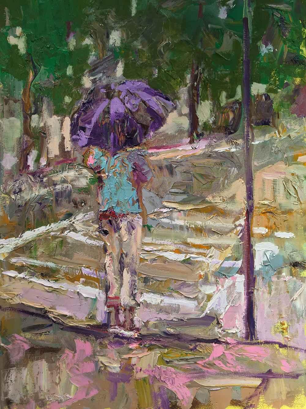 Thick Rain by  Traeger di Pietro - Masterpiece Online