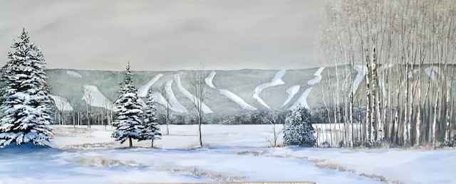 The Georgian Path by  Janet Liesemer - Masterpiece Online