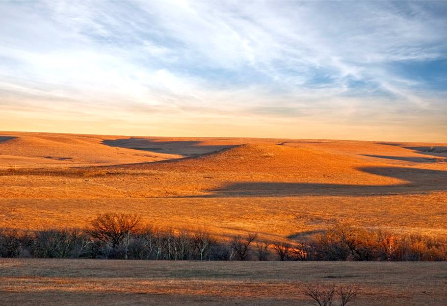 Chase County Sunset by  Betsy Forcade - Masterpiece Online