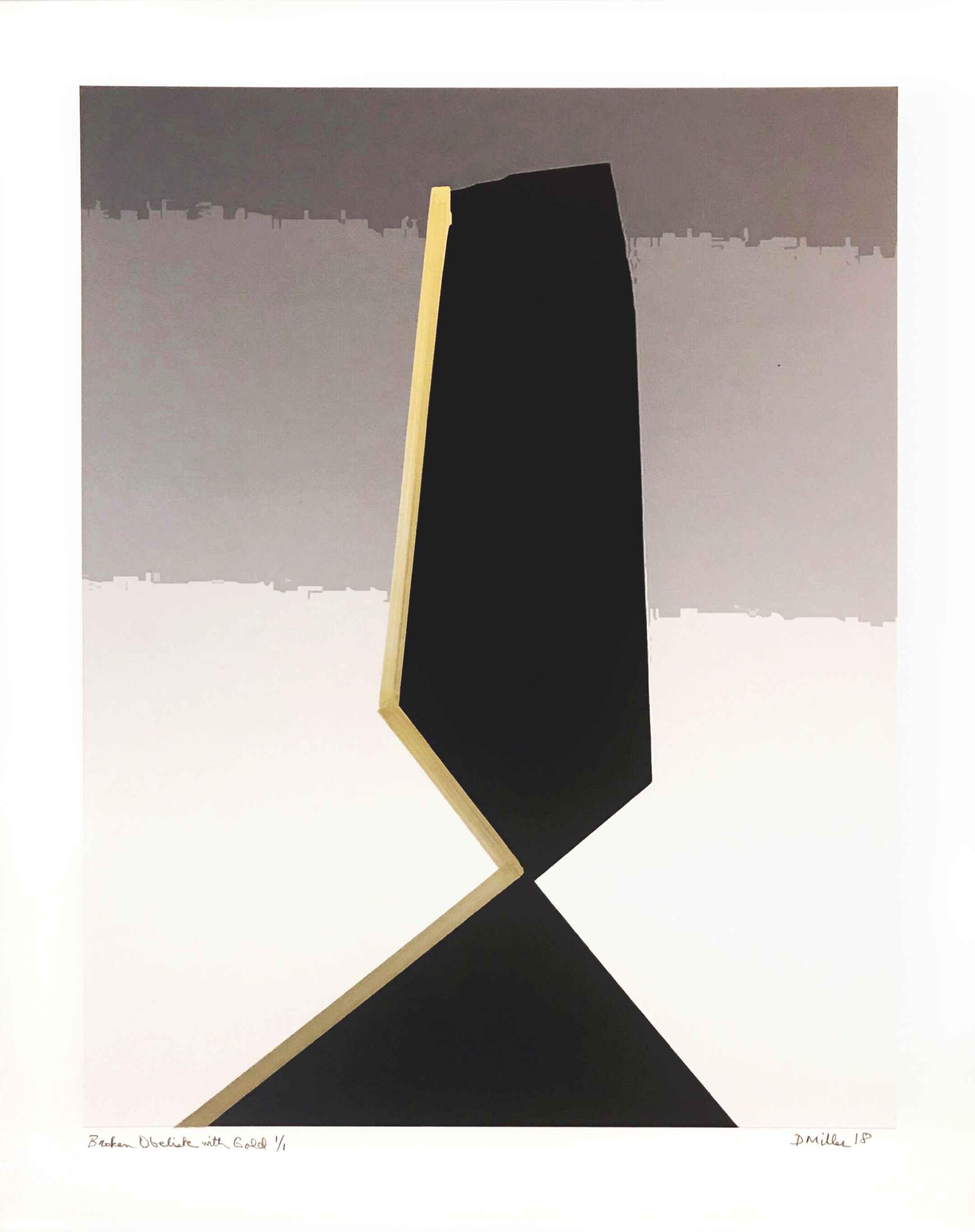 Broken Obelisk with G... by  David Miller - Masterpiece Online