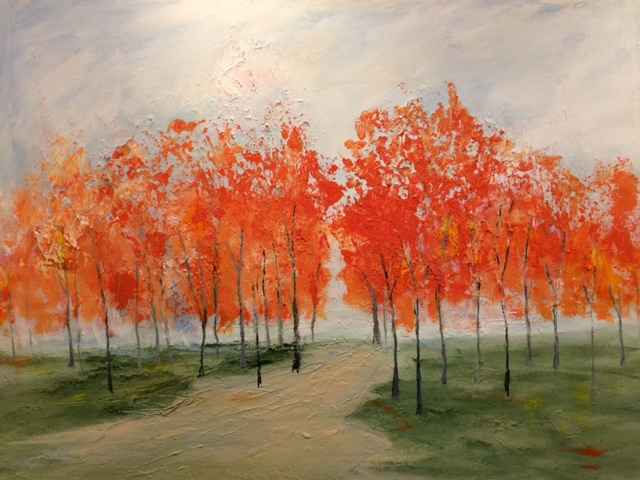 A Day in Late Autumn by  Steve Lyons - Masterpiece Online