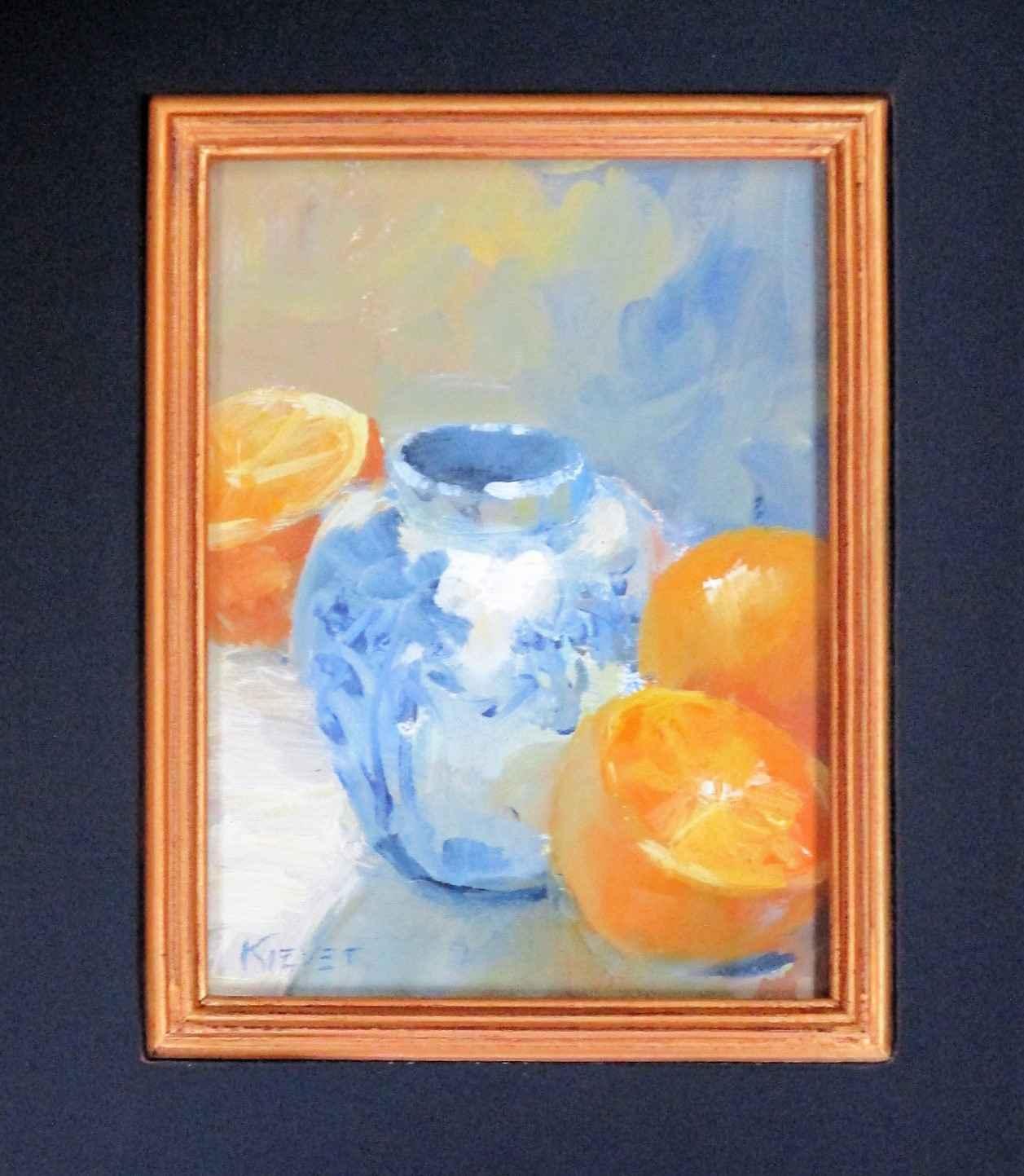 Vase with Oranges by  Fran Kievet - Masterpiece Online