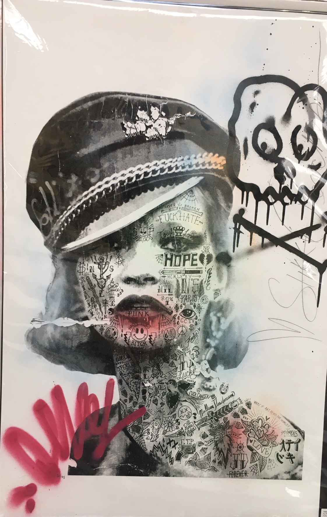 La Mossa Nostra #52/75 by  Stikki Peaches  - Masterpiece Online