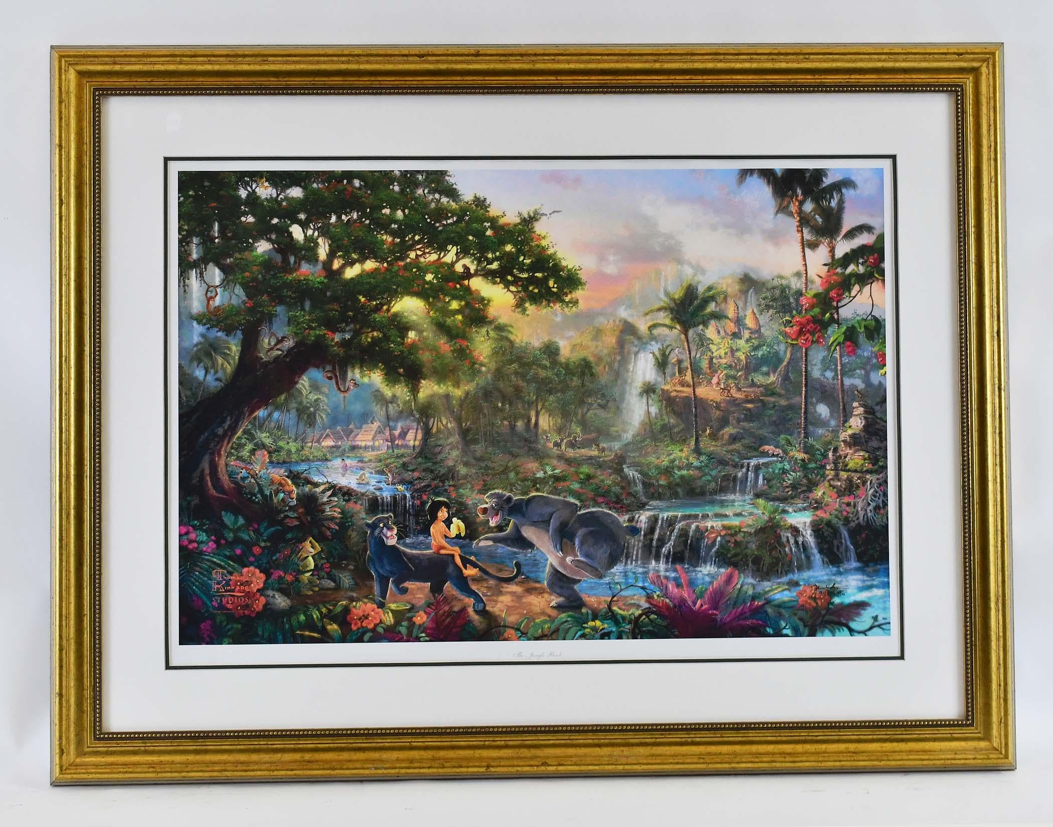 The Jungle Book by  Thomas Kinkade - Masterpiece Online