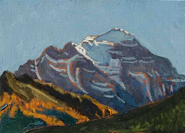 North Face of Mt. Tem... by Mr. Dennis Brown - Masterpiece Online