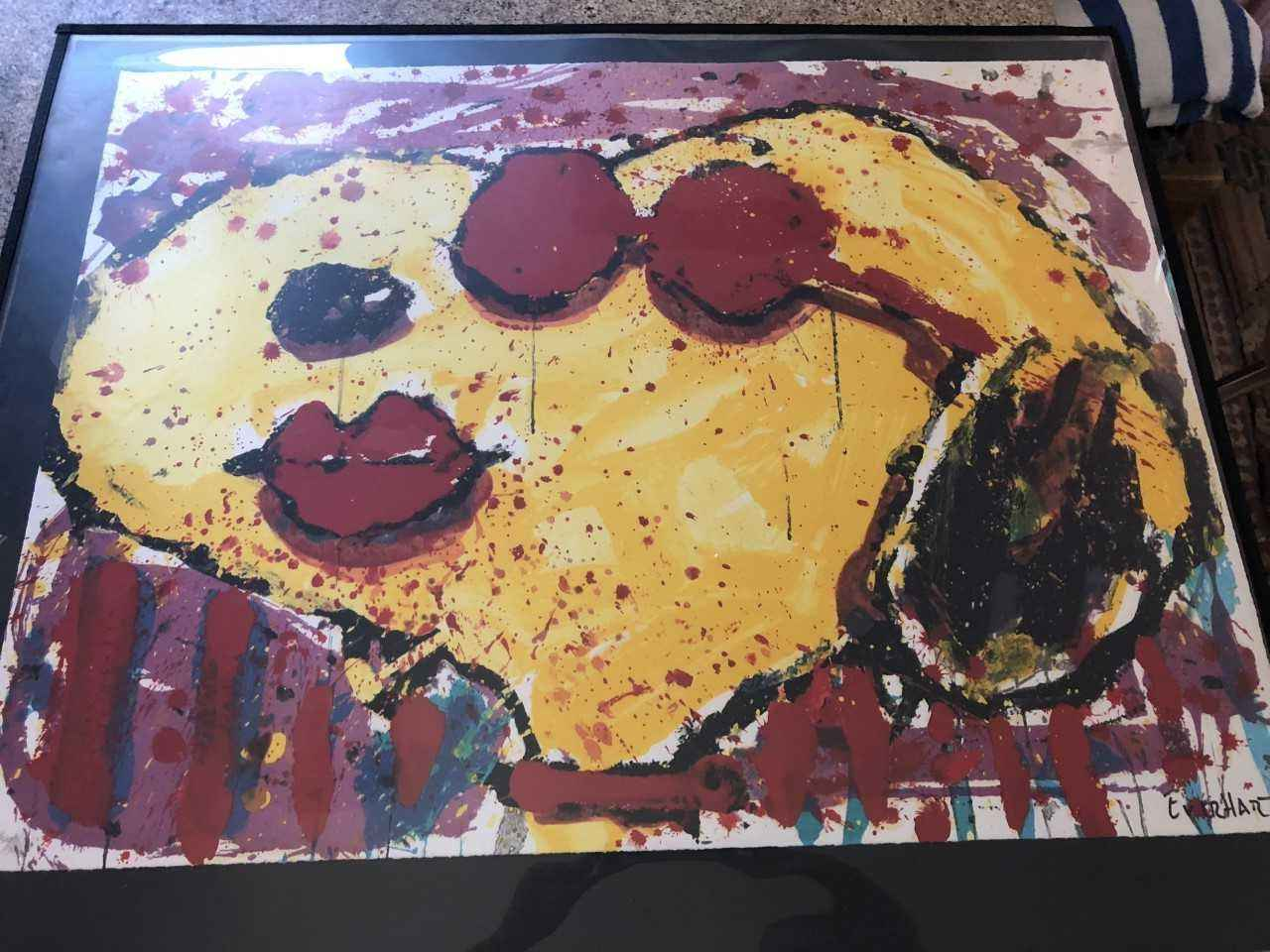 Very Cool Dog Lips in... by  Tom Everhart - Masterpiece Online