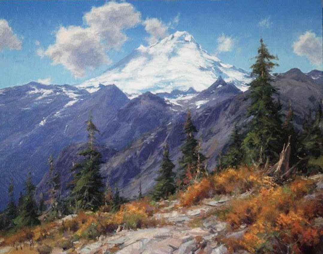 Mount Baker by Mr. Matt Smith - Masterpiece Online