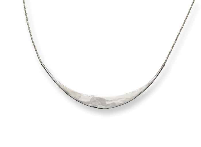 Glimmer Necklace Sterling Silver 18