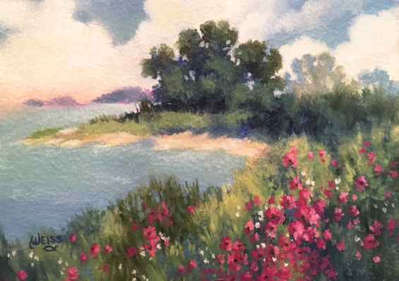 Lake View by  Carol Weiss - Masterpiece Online