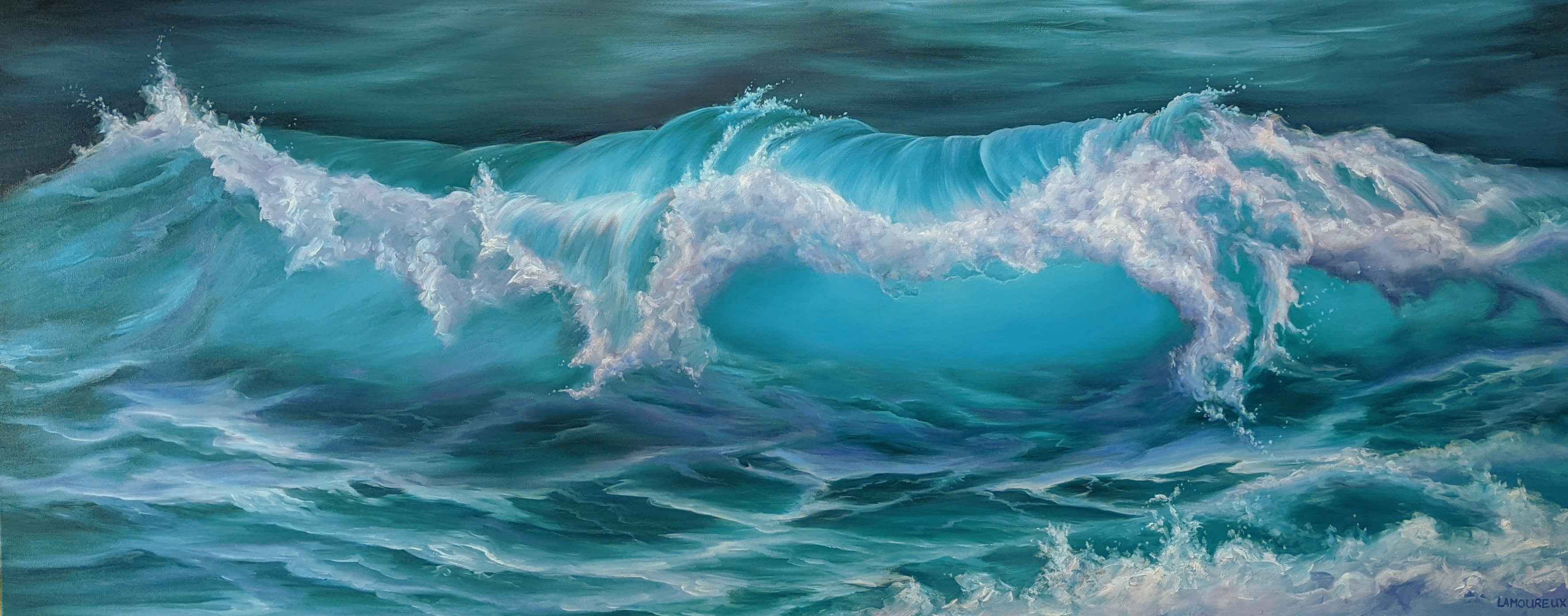 Summer Swell by  Julie Lamoureux - Masterpiece Online