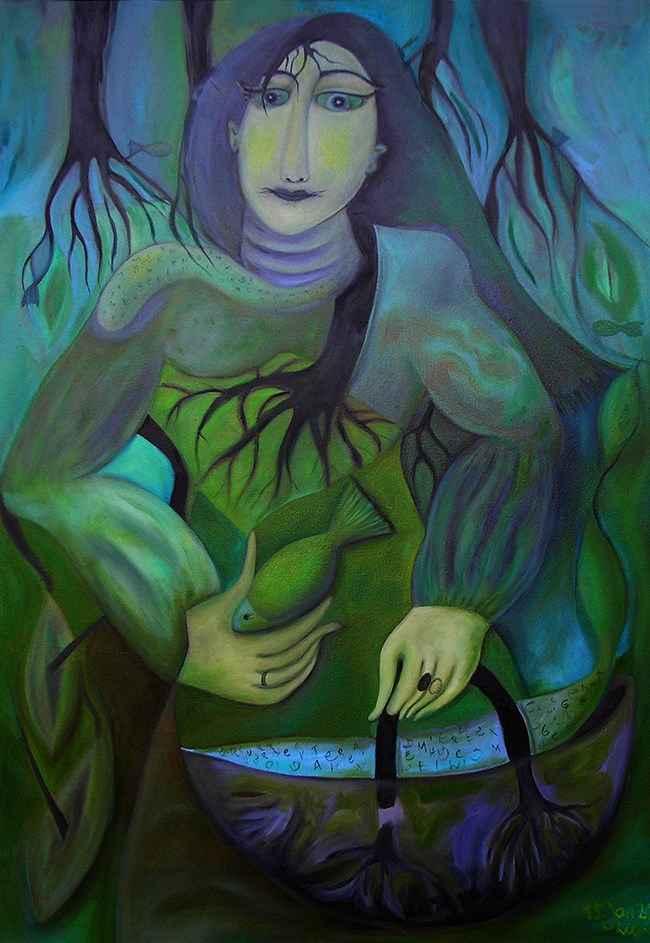 Tree Woman with Fish ...